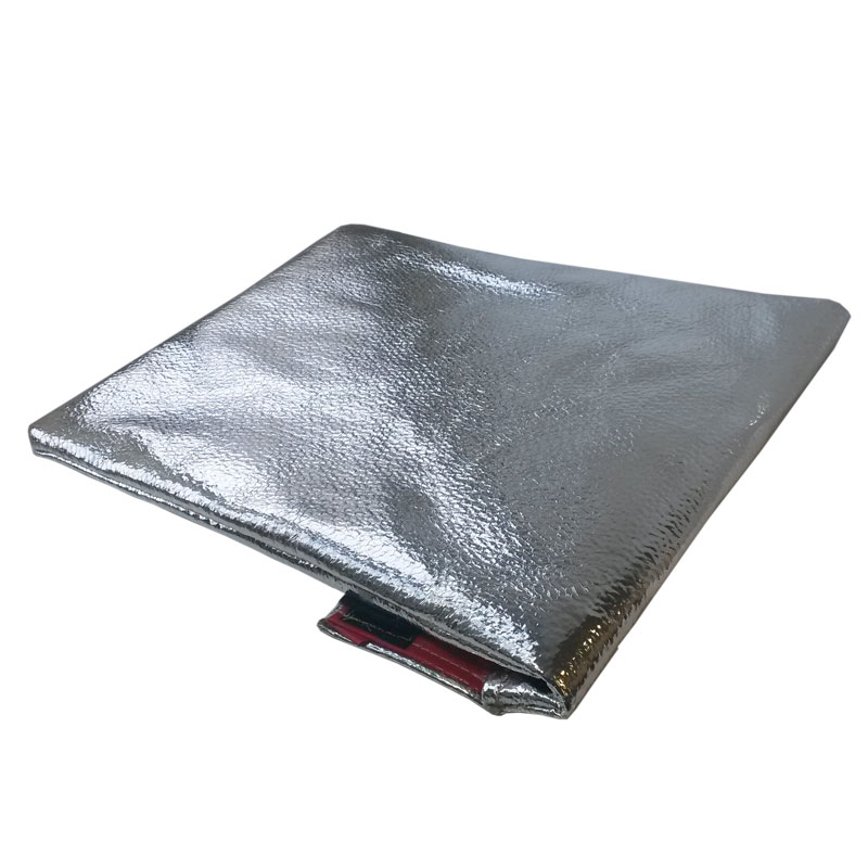 fire resistant document pouch with mylar facing With fireproof bag for documents with mylar facing
